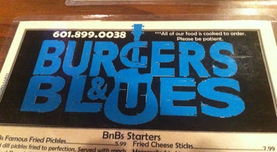 Photo of Burger Joint Burgers & Blues at 1060 E County Line Rd, Ridgeland, MS 39157, United States