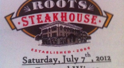 Photo of Steakhouse Roots Steakhouse at 40 W Park Pl, Morristown, NJ 07960, United States