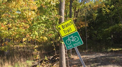 Photo of Trail Caldwell Woods Bicycle Trail (North Branch Trail) at N Caldwell Ave, Chicago, IL 60645, United States