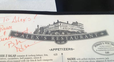 Photo of Diner Alex's Restaurant at 1 Market St, Poughkeepsie, NY 12601, United States