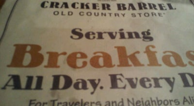 Photo of American Restaurant Cracker Barrel Old Country Store at 404 Kentucky Dr. Sr 931 & Kentucky Dr, Kokomo, IN 46902, United States