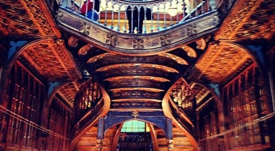 Photo of Bookstore Livraria Lello e Irmão at R. Das Carmelitas, 144, Porto, Portugal