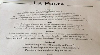 Photo of Italian Restaurant La Posta at 538 Seabright Ave, Santa Cruz, CA 95062, United States