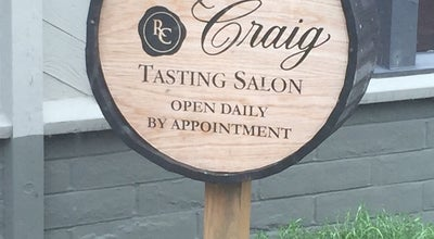 Photo of Wine Bar Robert Craig Winery at 625 Imperial Way, Napa, CA 94559, United States
