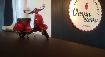 Photo of Italian Restaurant Osteria Vespa Rossa at Ναιάδων 2, Athens 116 34, Greece