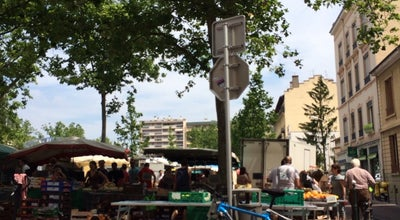 Photo of Farmers Market Marché de Monplaisir at Place Ambroise Courtois, Lyon 69008, France