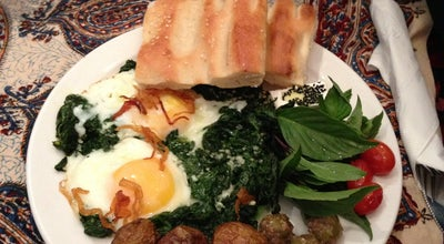 Photo of Middle Eastern Restaurant Tavoos Restaurant at 1120 College St, Toronto, ON M6H 1B5, Canada