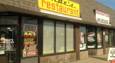 Photo of Diner Mac's Restaurant at 812 Higgins Rd, Park Ridge, IL 60068, United States