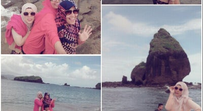 Photo of Beach Tanjung Papuma at Jember, Indonesia