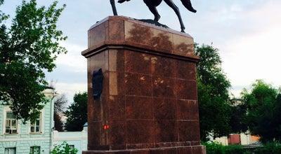 Photo of Monument / Landmark Конный памятник М.И. Платову at Просп. Платовский, Новочеркасск, Russia