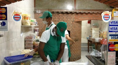 Photo of Pizza Place Pizzaria Córsega at Av. Rui Barbosa, 2280, Carapicuiba, Brazil