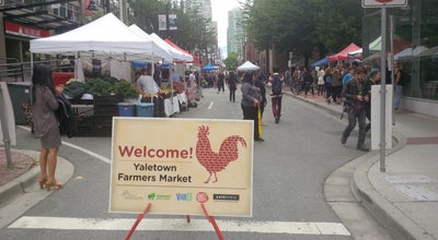 Photo of Market Yaletown Farmers Market at Mainland Street, Vancouver, BC, Canada