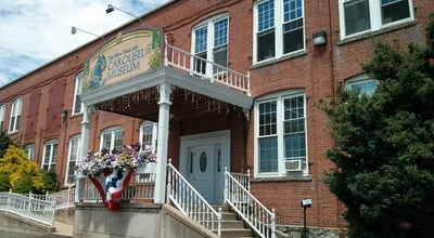 Photo of History Museum The New England Carousel Museum at 1-133 Riverside Ave, Bristol, CT 06010, United States