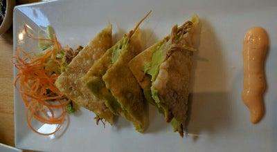 Photo of Asian Restaurant Carma Asian Tapas at 38-40 Carmine St, New York, NY 10014, United States