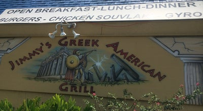 Photo of American Restaurant Jimmy's Greek American Grill at 1520 Lakeview Dr, Sebring, FL 33870, United States