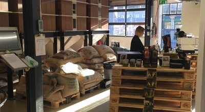 Photo of Coffee Shop Allpress Espresso Roastery & Cafe at 55 Dalston Ln, London E8 2NG, United Kingdom