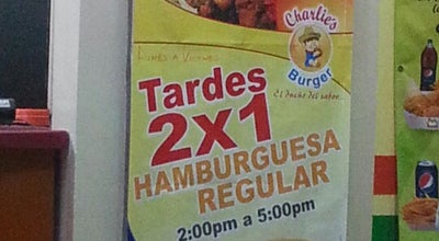 Photo of Burger Joint Charlie's Burger at Plaza San Carlos, Alajuela 21001, Costa Rica