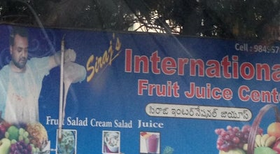 Photo of Juice Bar Siraj's International Juice Center at Mehdipatnam, Hyderabad, India