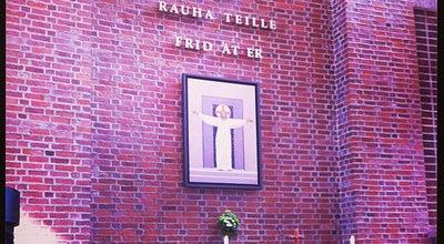 Photo of Church Leppävaaran kirkko at Veräjäkallionkatu 2, Espoo 02650, Finland