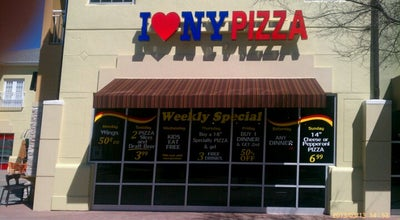 Photo of Pizza Place I Love NY Pizza at 532 Cagan Park Ave, Clermont, FL 34714, United States