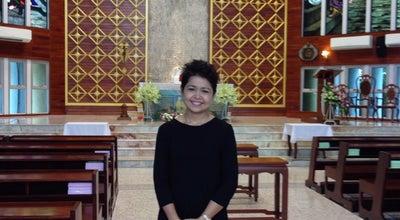 Photo of Church อาสนวิหารแม่พระประจักษ์ที่เมืองลูร์ด at โรงเรียนมาร์วิทยา, ในเมือง 30000, Thailand