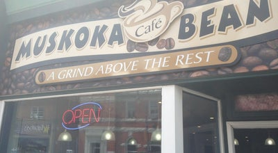 Photo of Coffee Shop Muskoka Bean at 54 Manitoba St, Bracebridge, ON, Canada