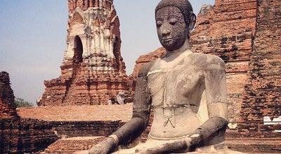Photo of Buddhist Temple วัดมหาธาตุ (Wat Maha That) at Chikun Rd., Phra Nakhon Si Ayutthaya 13000, Thailand