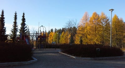 Photo of Playground Yrttisuon perhepuisto at Kekkolantie 18, Jyvaskyla 40520, Finland