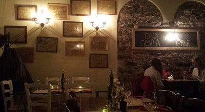 Photo of Italian Restaurant E Prie Rosse at Via Di Ravecca, 54 R, Genova 16128, Italy