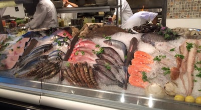 Photo of Seafood Restaurant Taverna Kyclades East Village at 228 1st Ave, New York City, NY 10009, United States