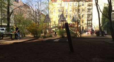 Photo of Playground Spielplatz Jungstraße at Berlin, Germany