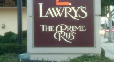 Photo of Steakhouse Lawry's The Prime Rib at 100 N La Cienega Blvd, Beverly Hills, CA 90211, United States