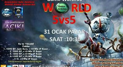 Photo of Arcade WORLD GAME ARENA INTERNET CAFE at Kuşadası Belediye Hizmet Binası Arkası Aydem Elektirik ( Tedaş ) Altı, Kuşadası, Turkey