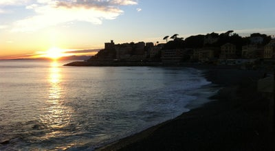 Photo of Beach Spiaggia Di Sturla at Via V Maggio, Genova 16147, Italy
