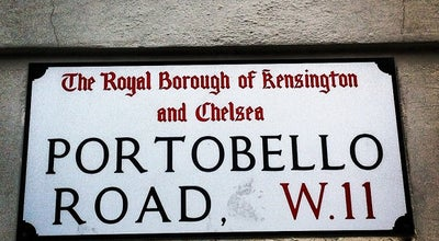 Photo of Road Portobello Road at Portobello Rd, London W11, United Kingdom