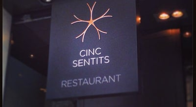 Photo of Mediterranean Restaurant Cinc Sentits at Aribau 58, Barcelona 08011, Spain