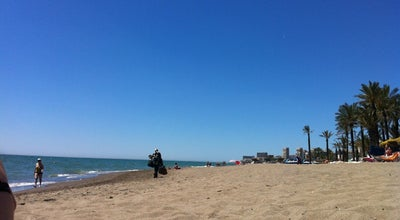 Photo of Beach Playa de Los Álamos at Torremolinos 29620, Spain