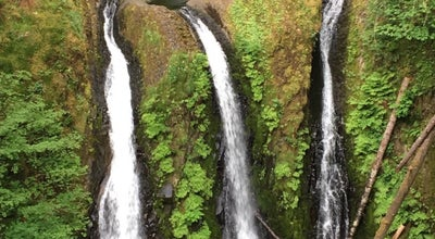 Photo of Trail Triple Falls at 48309-48635 E Crown Point Hwy, Cascade Locks, OR 97019, United States