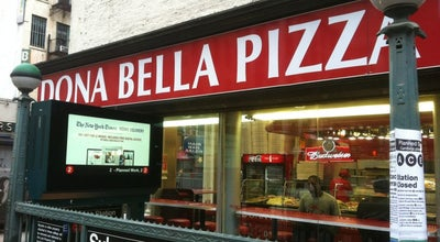 Photo of Pizza Place Dona Bella Pizza at 154 Church St, New York, NY 10013, United States