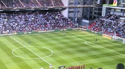 Photo of Soccer Stadium Telia Parken at Per Henrik Lings Allé 2, København Ø 2100, Denmark
