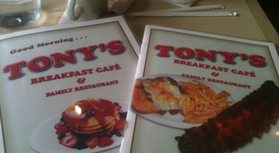Photo of American Restaurant Tony's Family Restaurant at 9414 Ogden Ave, Brookfield, IL 60513, United States