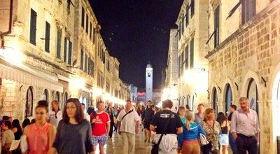 Photo of Pedestrian Plaza Placa (Stradun) at Stradun, Dubrovnik 20000, Croatia