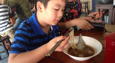 Photo of Ramen / Noodle House ตงเฮง ก๋วยเตี๋ยวเนื้อ at Nr. Surin Railway Station, Surin 32000, Thailand