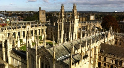 Photo of University All Souls College at High Street, Oxford OX1 4AL, United Kingdom
