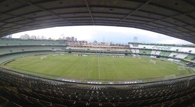 Photo of Soccer Stadium Coritiba at Estádio Major Antônio Couto Pereira Endereço: Rua Ubaldino Do Amaral, 37 Bairro: Alto Da Glória, Curitiba 80060-195, Brazil