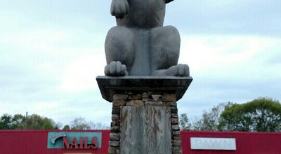 Photo of Historic Site Rabbittown, GA Monument (20 Foot Tall Rabbit) at United States