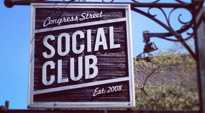 Photo of Bar Congress Street Social Club at 411 W Congress St, Savannah, GA 31401, United States