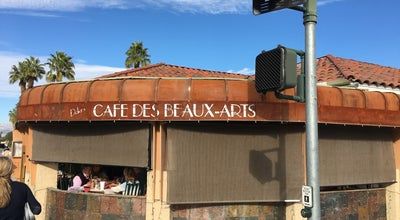 Photo of Cafe Cafe Des Beaux-Arts at 73640 El Paseo #1, Palm Desert, CA 92260, United States