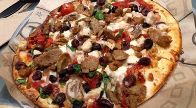 Photo of Pizza Place Pieology Pizzeria at 12841 Towne Center, Cerritos, Ca 90703, United States