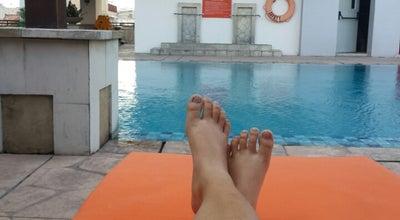 Photo of Pool Grand Surya Hotel Swimming Pool at Jalan Dhoho, Kediri, Indonesia